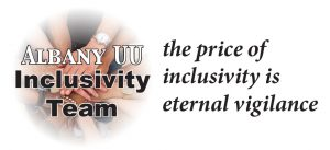 Albany UU Inclusivity Team logo